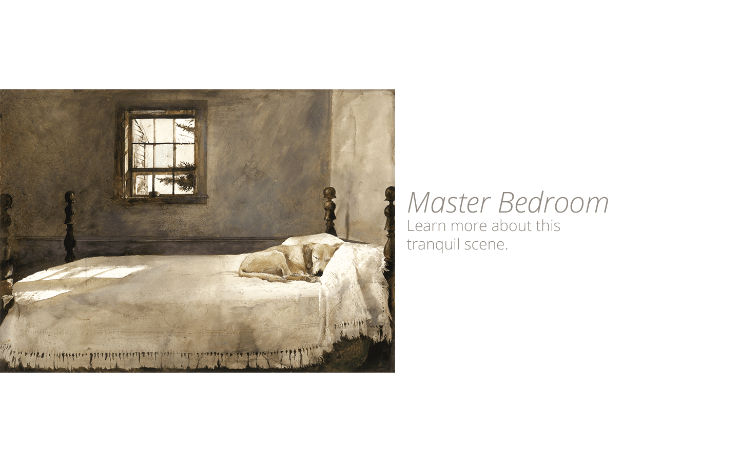 Master Bedroom By Andrew Wyeth Andrew Wyeth Prints Wyeth Print Gallery Home Page