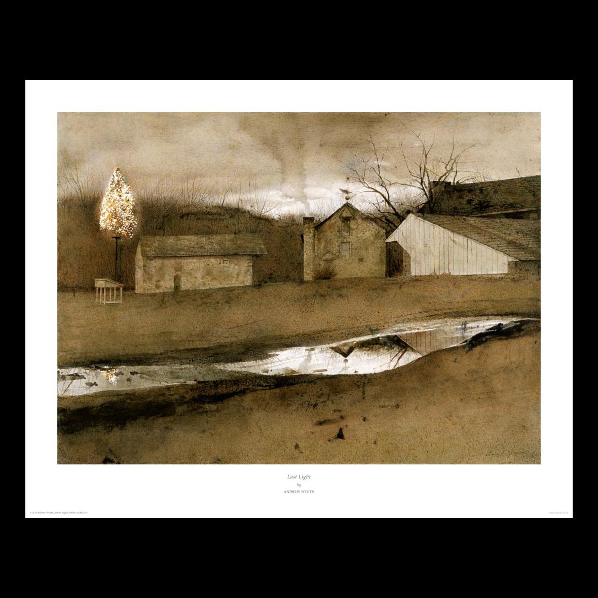 Print Of Last Light By Andrew Wyeth Wyeth Print Gallery