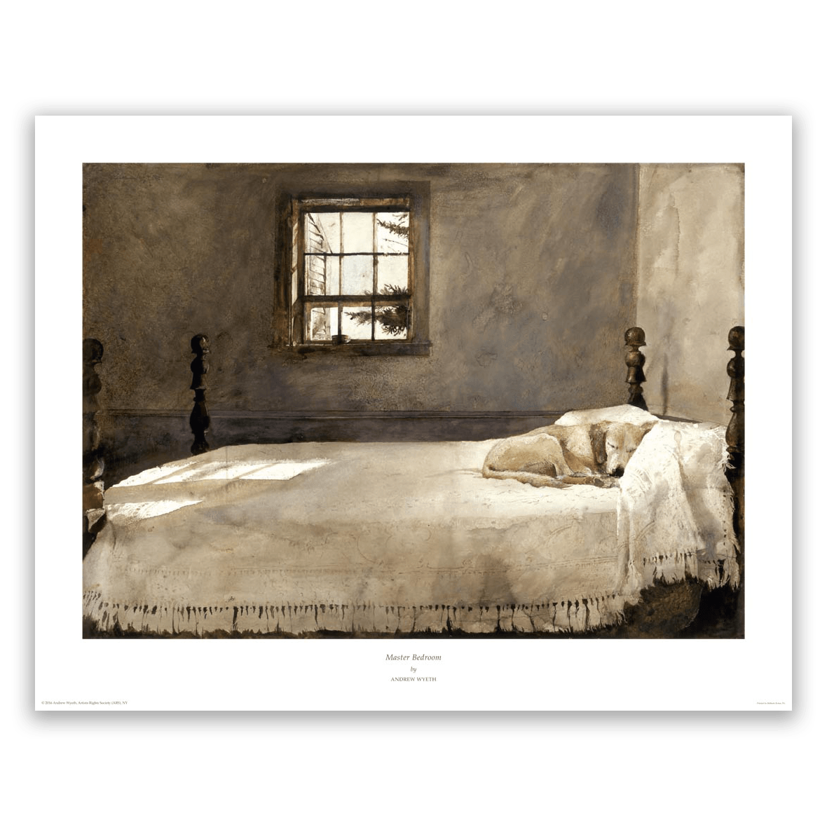 master bedroom by andrew wyeth wyeth print gallery 12349 | masterbedroom